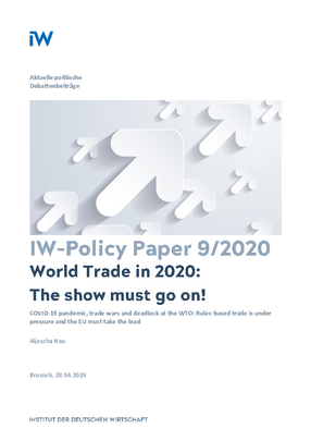 World Trade in 2020: The show must go on!