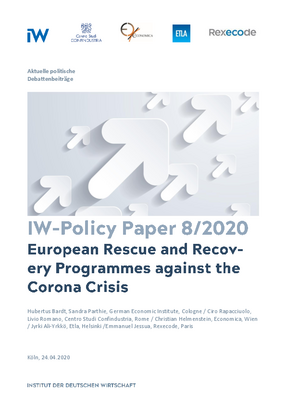 European Rescue and Recovery Programmes against the Corona Crisis