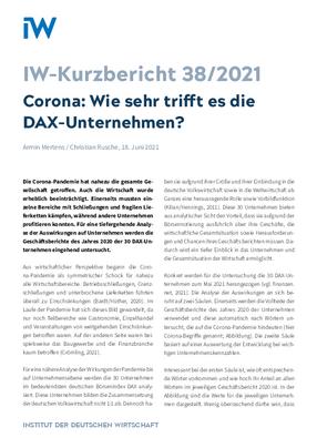 Wie sehr trifft es die DAX-Unternehmen?