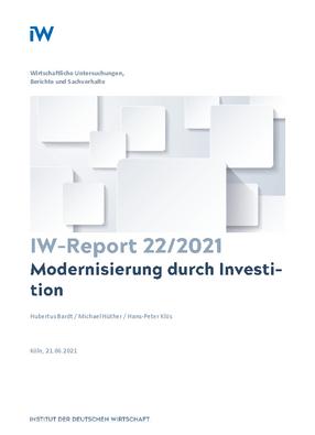 Modernisierung durch Investition
