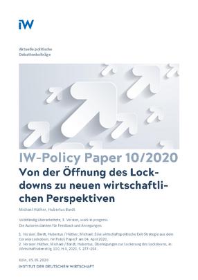 Von der Öffnung des Lockdowns zu neuen wirtschaftlichen Perspektiven