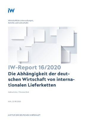Die Abhängigkeit der deutschen Wirtschaft von internationalen Lieferketten