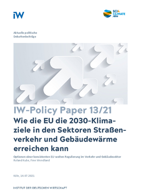 How the EU can achieve the 2030 climate targets in the road transport and building heat sectors
