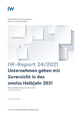 Unternehmen gehen mit Zuversicht in das zweite Halbjahr 2021