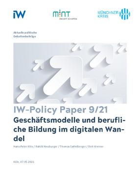 Geschäftsmodelle und berufliche Bildung im digitalen Wandel