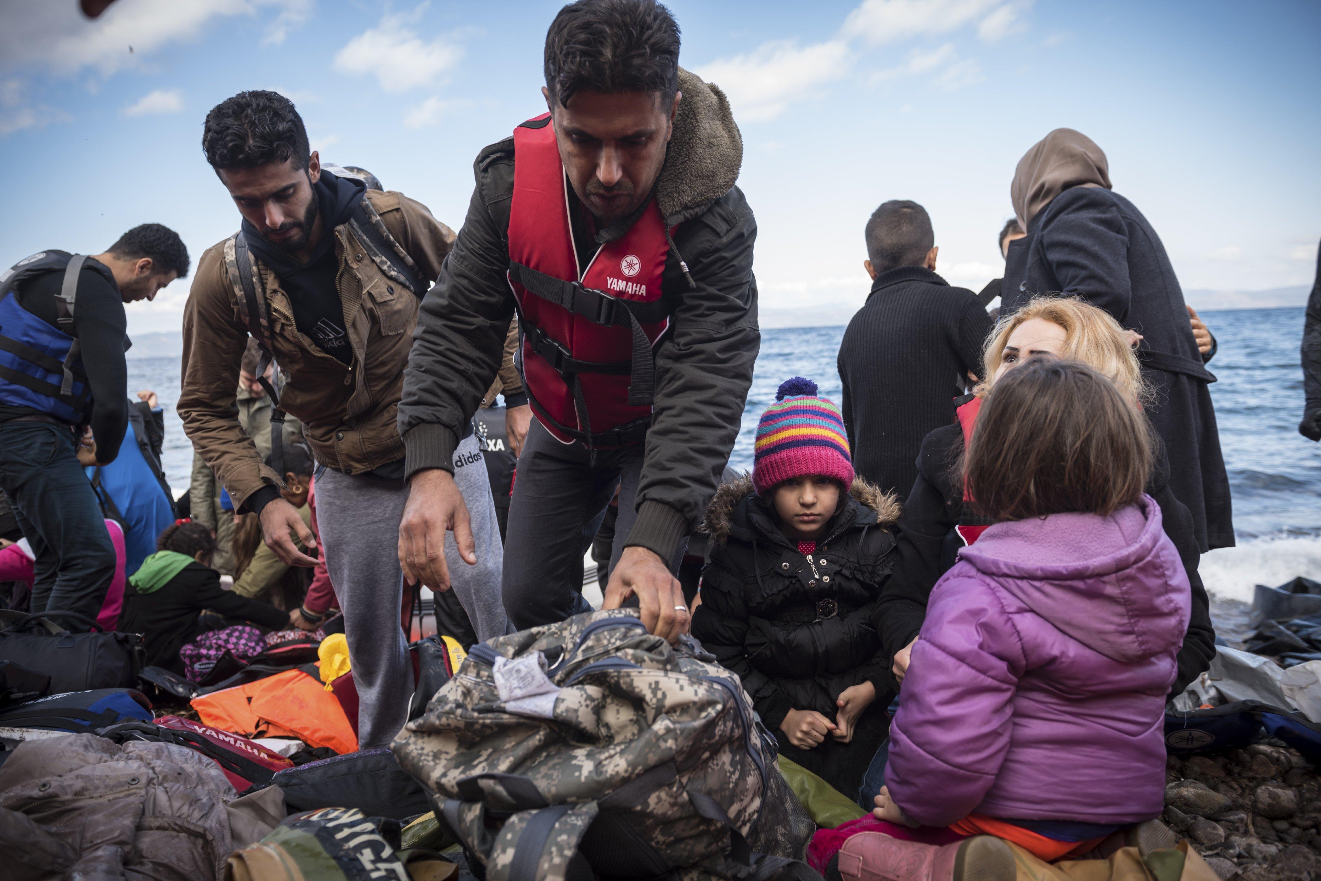 Flüchtlinge Probleme